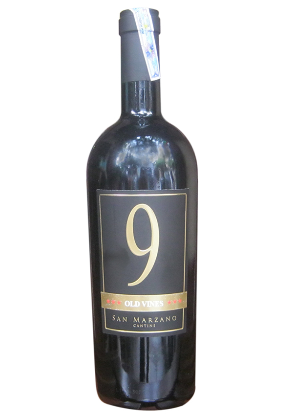 "Rượu vang Ý ""9 Old Vines"""