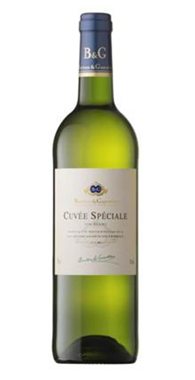 B&G Cuvee white - Rượu vang Pháp nhập khẩu