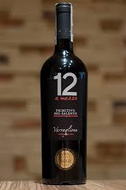 12 E mezzo Red - Rượu vang Ý nhập khẩu
