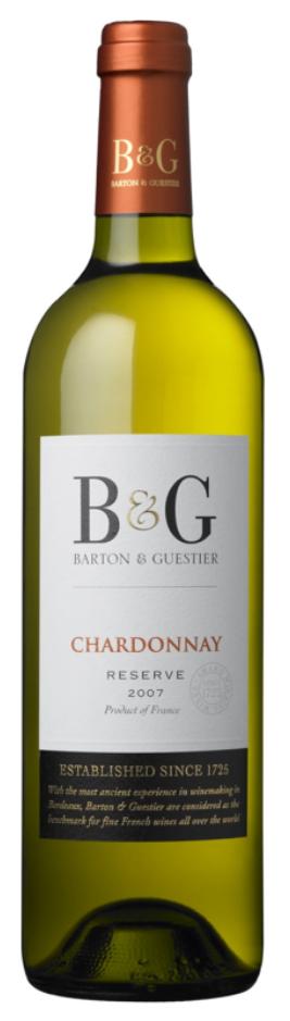 B&G Reserve Chardonnay - Rượu vang Pháp nhập khẩu