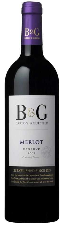B&G Reserve Varietal - Rượu vang Pháp nhập khẩu