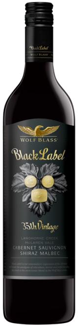 Wolf Blass Black Label - Rượu vang Úc