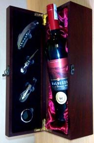 Hộp gỗ - Rượu vang Lejus