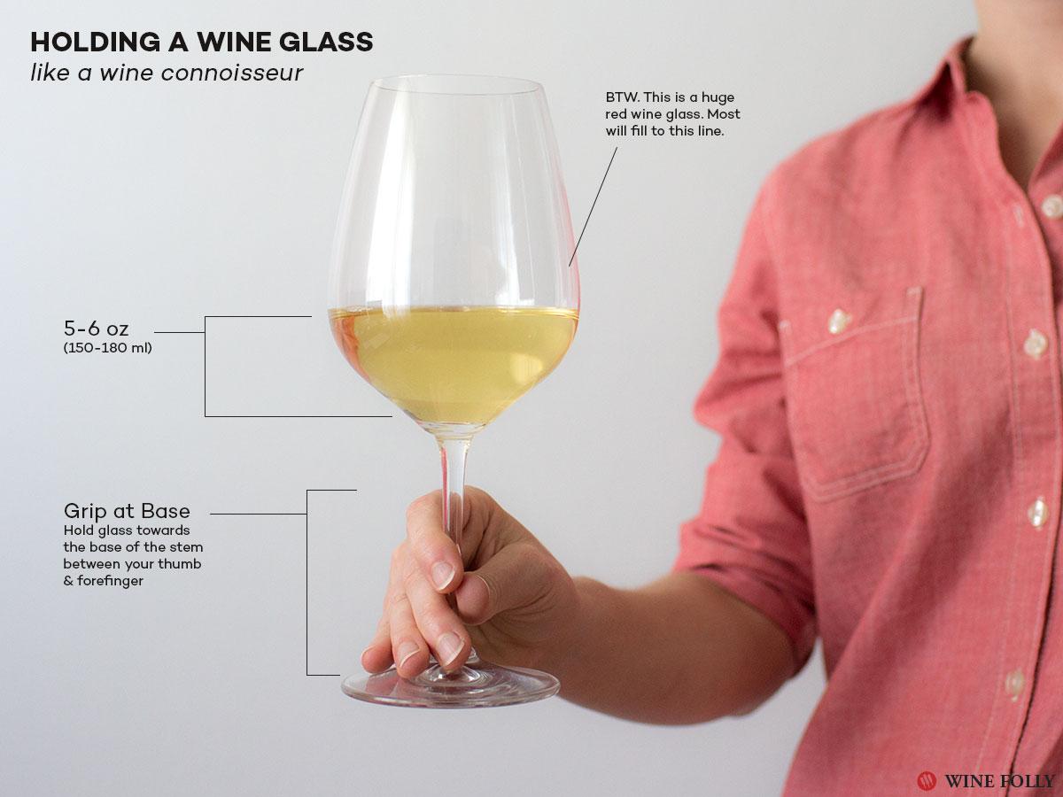 Cách chọn ly uống rượu vang 1