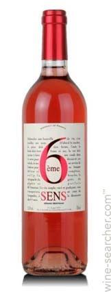 6 Sens Rose - Rượu vang Pháp nhập khẩu