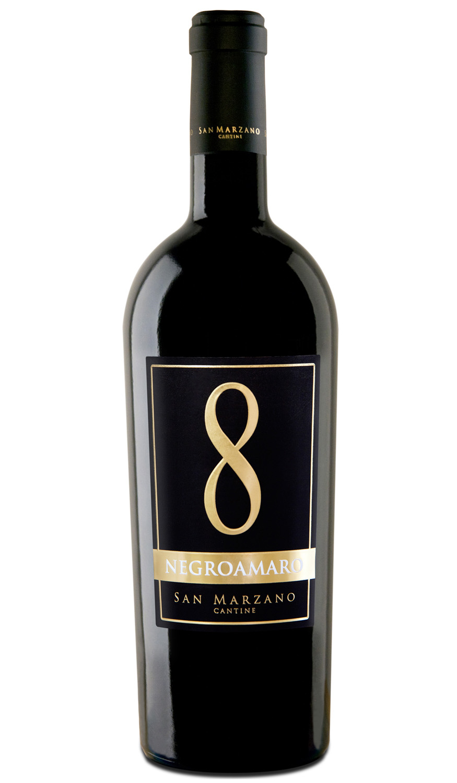 8 Negro Amaro 15% - Rượu vang Ý nhập khẩu tại Lejus