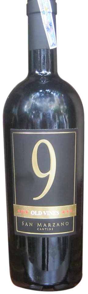 9 Old Vines Primitivo - Rượu vang Ý nhập khẩu chính hãng