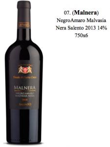 Malnera Salento - Rượu vang Ý nhập khẩu